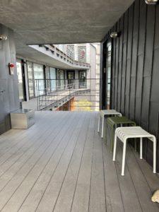 FARO神楽坂2階ベンチ